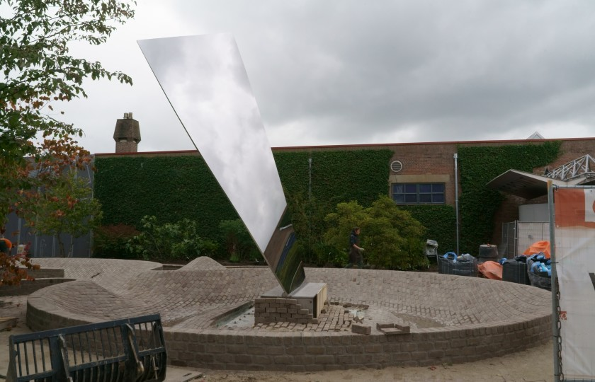 Sculptuur Anish Kapoor – Sky Mirror (for Hendrik)
