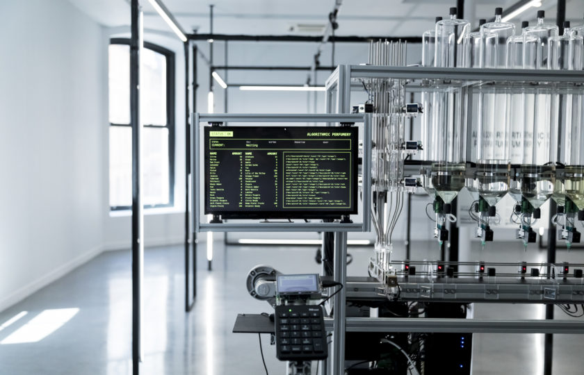 Connecting Algorithmic Perfumery