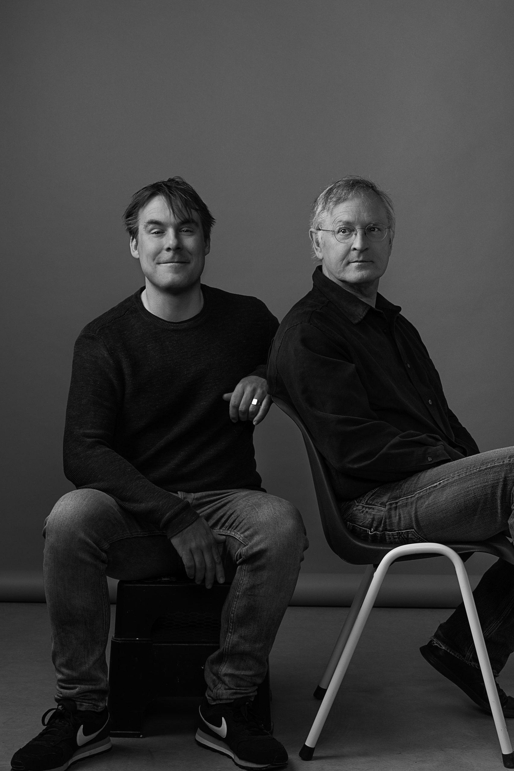 Jan Baanstra en Jack Timmermans, fotografie: Willeke Machiels