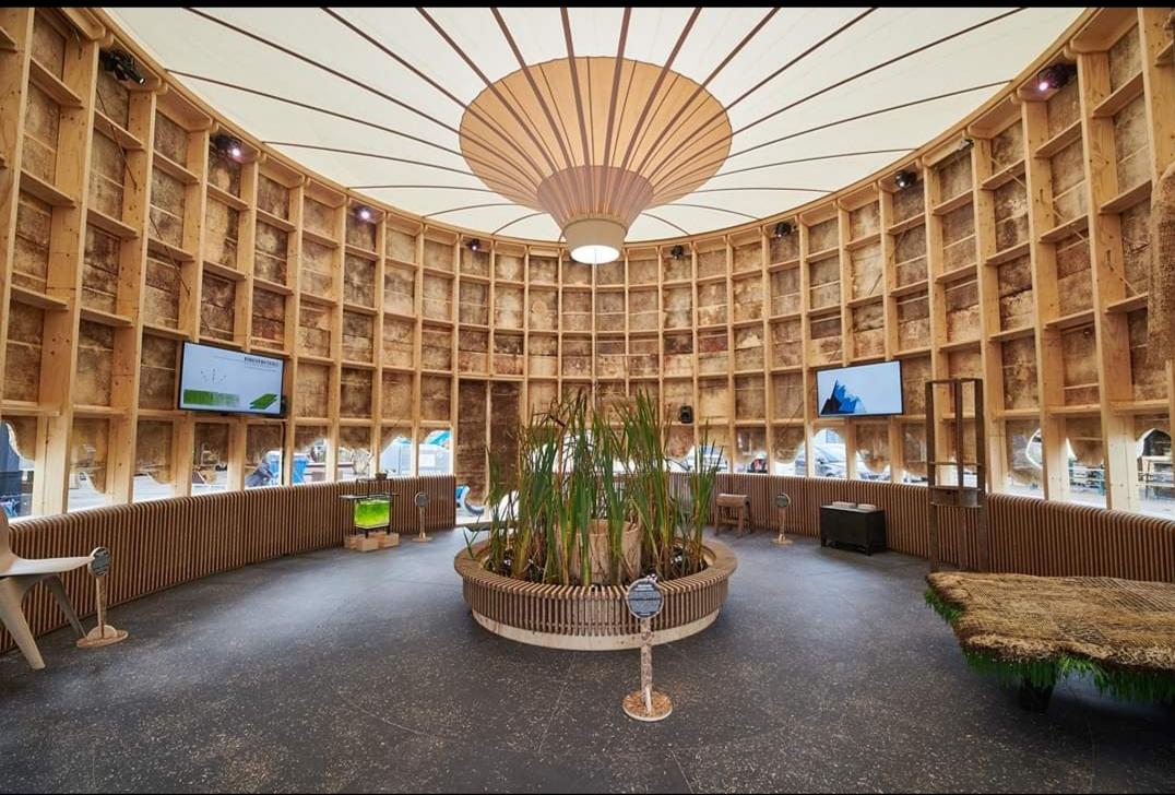 The Growing Pavilion - Stichting Nieuwe Helden, fotografie: Igor Vermeer
